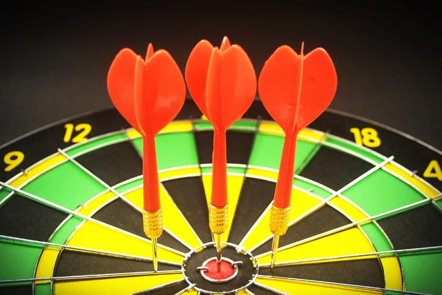 Darts targetting call centre solutions